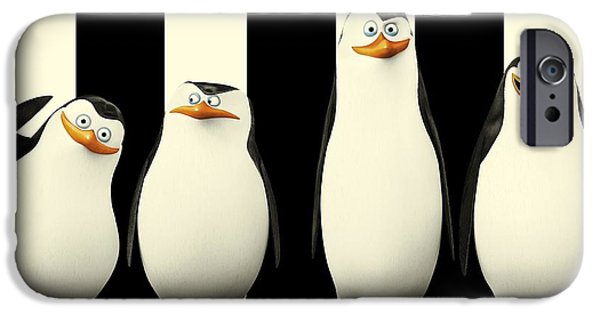 Penguins Of Madagascar IPhone Case by Movie Poster Prints
