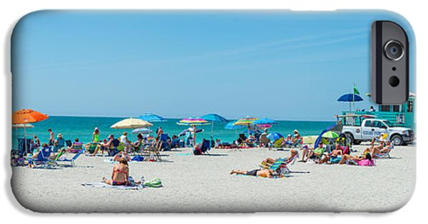 People On The Beach, Venice Beach, Gulf IPhone 6s Case by Panoramic Images