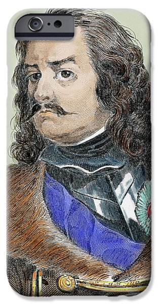 Peter I Alexeievitch The Great IPhone Case by Prisma Archivo