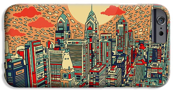 Philadelphia Dream IPhone 6s Case by Bekim Art