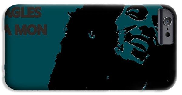 Philadelphia Eagles Ya Mon IPhone Case by Joe Hamilton
