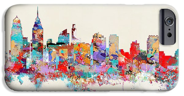 Philadelphia Skyline IPhone 6s Case by Bri B