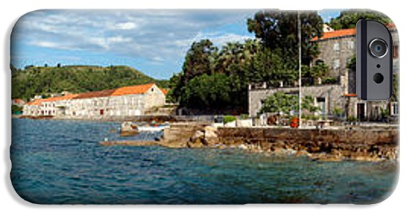 Pier In The Sea, Adriatic Sea, Lopud IPhone Case by Panoramic Images