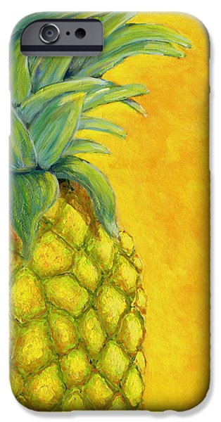 Pineapple IPhone Case by Karyn Robinson