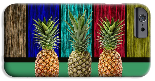 Pineapples IPhone Case by Marvin Blaine
