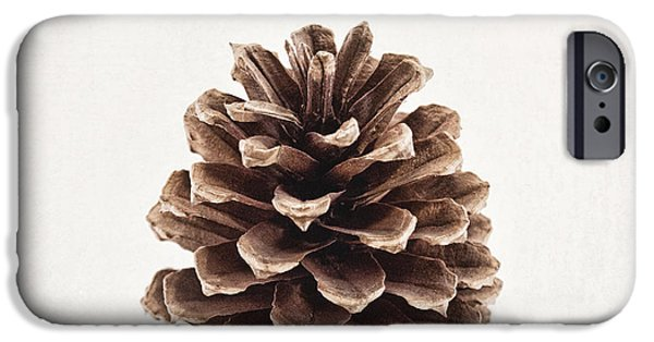 Pinecone Pose 2 IPhone Case by Alison Sherrow