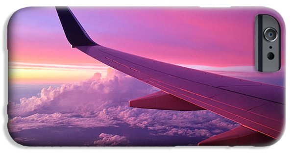 Pink Flight IPhone Case by Chad Dutson