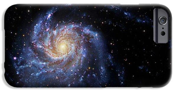 Pinwheel Galaxy IPhone Case by Robert Gendler