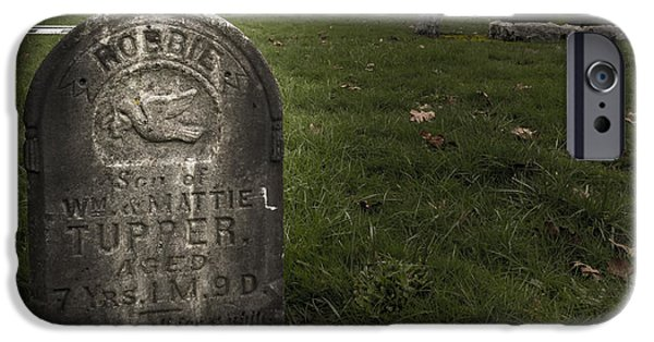 Pioneer Grave IPhone Case by Jean Noren