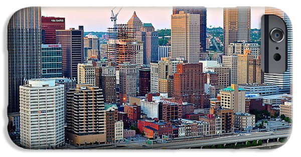 Pittsburgh Pa IPhone Case by Frozen in Time Fine Art Photography