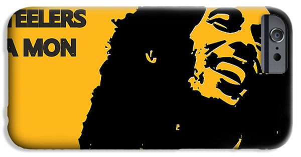 Pittsburgh Steelers Ya Mon IPhone Case by Joe Hamilton