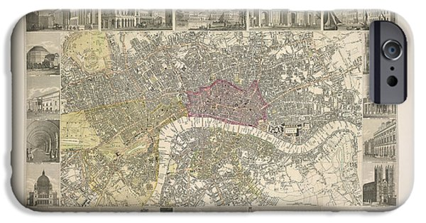 Plan Of London IPhone Case by British Library