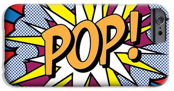 Pop Art IPhone Case by Gary Grayson