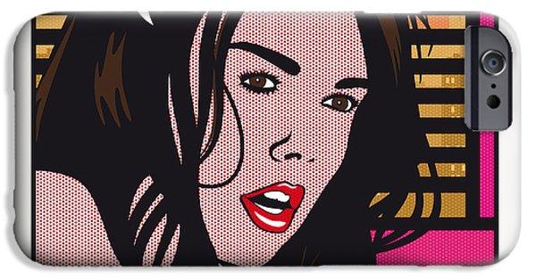 Pop Art Porn Stars - Dillion Harper IPhone Case by Chungkong Art