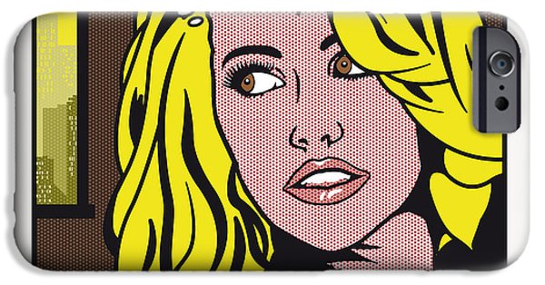 Pop Art Porn Stars - Mia Malkova IPhone Case by Chungkong Art