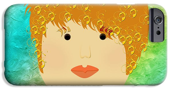 Porcelain Doll 14 IPhone Case by Andee Design