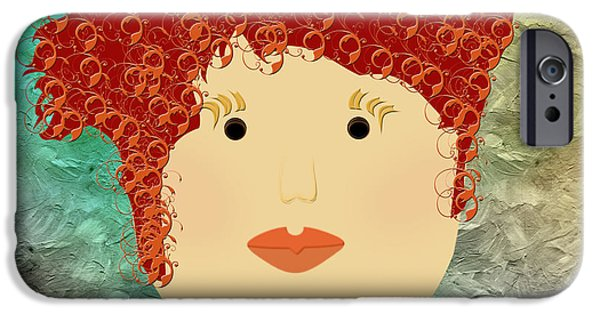 Porcelain Doll 21 IPhone Case by Andee Design