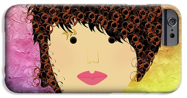 Porcelain Doll 33 IPhone Case by Andee Design