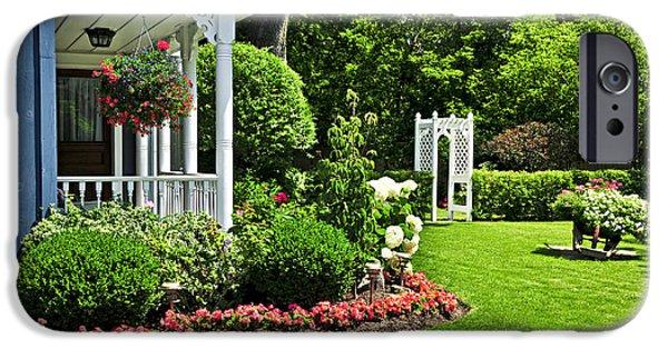 Porch And Garden IPhone Case by Elena Elisseeva