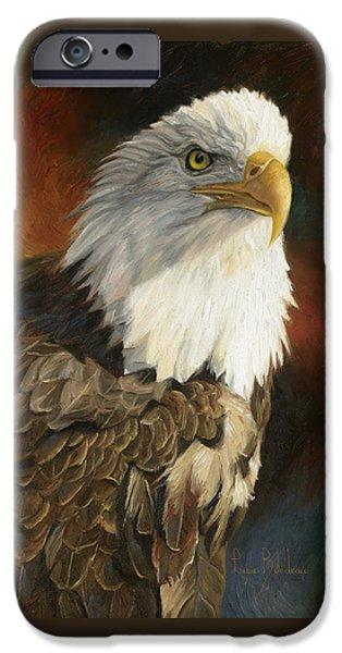 Portrait Of An Eagle IPhone 6s Case by Lucie Bilodeau