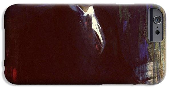 Portrait Of Boris Pasternak IPhone Case by A A Murashko