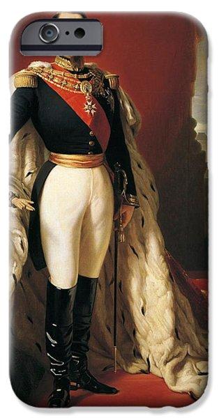 Portrait Of Napoleon IIi Louis Napoleon Bonaparte IPhone Case by Franz Xaver Winterhalter