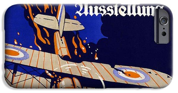 Poster Advertising The German Air War IPhone Case by Siegmund von Suchodolski