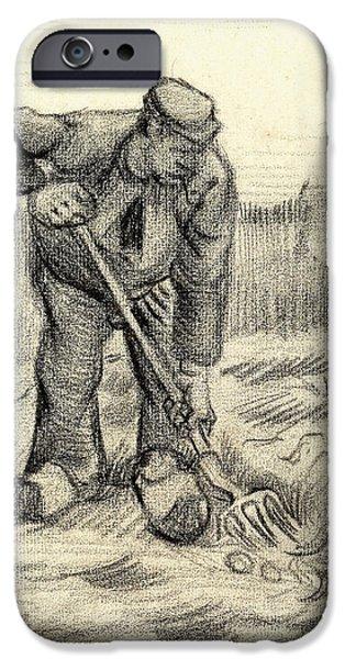Potato Gatherer IPhone 6s Case by Vincent Van Gogh