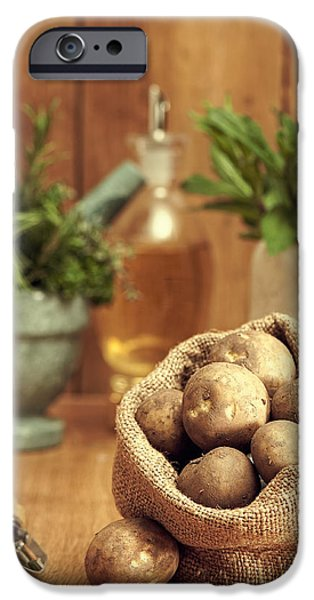 Potatoes IPhone 6s Case by Amanda Elwell