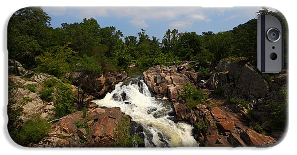 Potomac River Great Falls IPhone Case by James Brunker