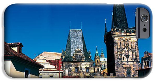 Prague Castle St Vitus Cathedral Prague IPhone Case by Panoramic Images