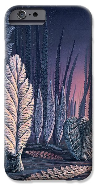 Pre-cambrian Life Forms IPhone Case by Richard Bizley