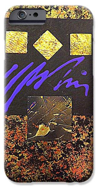 Precious Metal IPhone Case by Darren Robinson