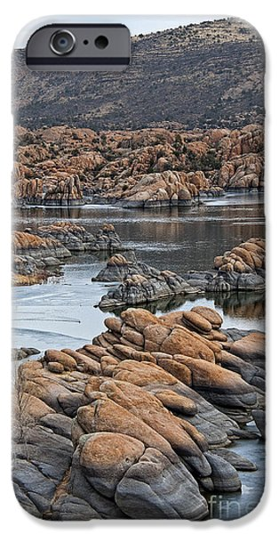 Prescott Arizona Winter Dells II IPhone Case by Lee Craig
