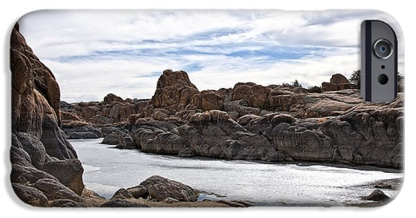 Prescott Arizona Winter Dells Iv IPhone Case by Lee Craig