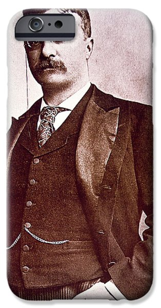 President Theodore Roosevelt IPhone Case by American School