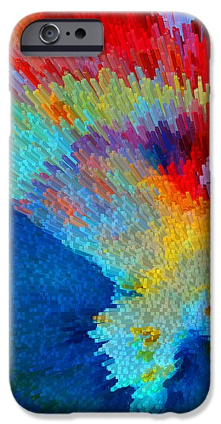 Primary Joy - Abstract Art By Sharon Cummings IPhone Case by Sharon Cummings