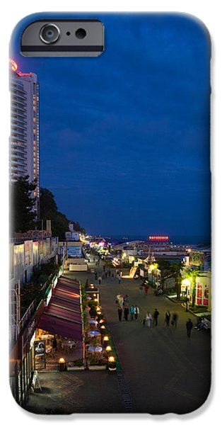Primorskaya Street And Alexandria IPhone Case by Panoramic Images