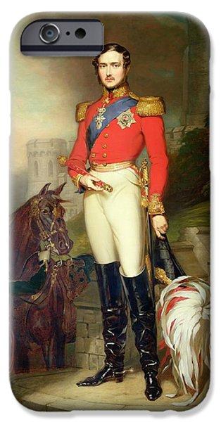 Prince Albert IPhone Case by John Lucas