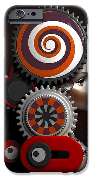 Princess And Contraption 2 IPhone Case by Jeff  Gettis