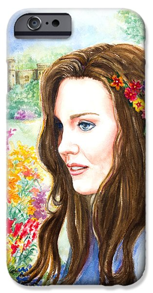 Princess Kate IPhone Case by Patricia Allingham Carlson