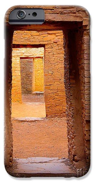 Pueblo Doorways IPhone Case by Inge Johnsson