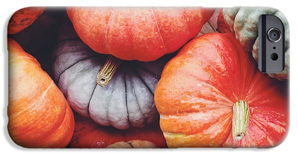 Pumpkins Galore IPhone 6s Case by Kim Fearheiley