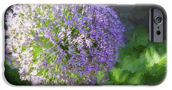 Purple Allium 1 Hollandicum Sensation  IPhone 6s Case by Andee Design