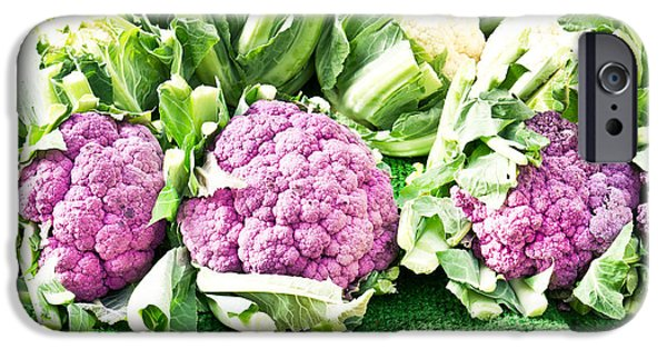 Purple Cauliflower IPhone 6s Case by Tom Gowanlock
