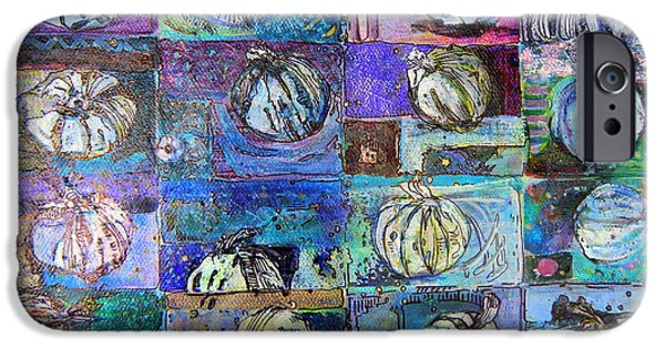 Purple Onions IPhone Case by Mindy Newman