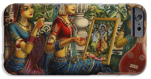 Purva Raga IPhone Case by Vrindavan Das