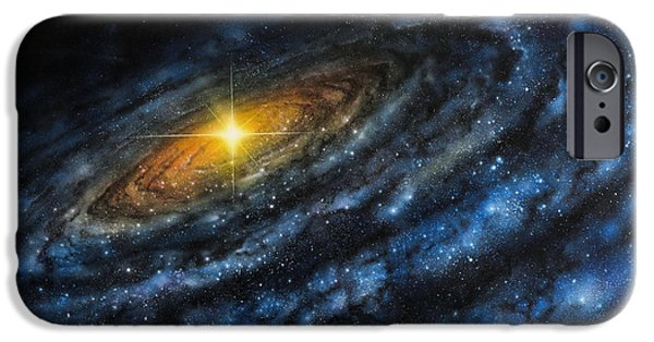 Quasar IPhone Case by Don Dixon