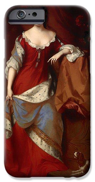 Queen Anne When Princess Of Denmark IPhone Case by Mountain Dreams