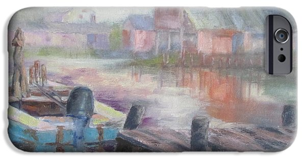 Quiet Morning In East Point IPhone Case by Susan Richardson